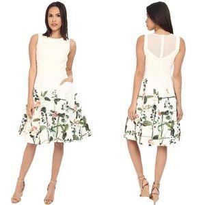 Ted Baker Karolie Secret Trellis Sleeveless Dress.